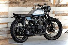 KZ400 custom by Analog Motorcycles