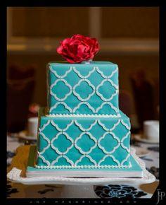 Tiffany Blue #Wedding Cake I Sweetface Cakes