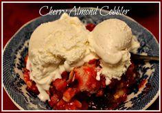 Sweet Tea and Cornbread: Cherry Almond Cobbler!
