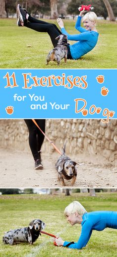 Turn your dog into your new workout buddy. You'll both have fun while enjoying the benefits of exercise.