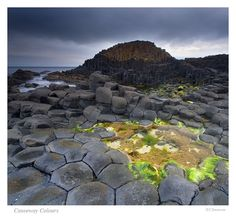 Giants Causeway, Ireland-love this place.