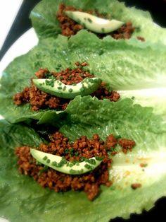 Healthy lettuce wraps @balancedbites