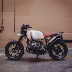 A few years ago, BMW dipped their toes into the enduro market with the G450X—but they've never created a bike to challenge the Triumph Scrambler. This new build from Max Hazan and The Mighty Motor shows what could have been—and it looks pretty good, doesn't it? Get the full story at http://www.bikeexif.com/bmw-scrambler