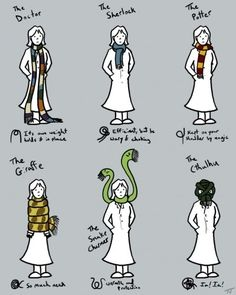 Or like one of your very favorite characters. | 18 Helpful Diagrams To Solve All Your Clothing Woes