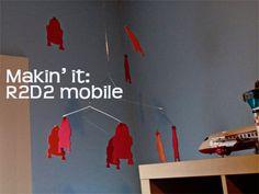 DIY r2d2 mobile