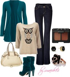 """""""owl outfit"""" by smacedo85 on Polyvore"""