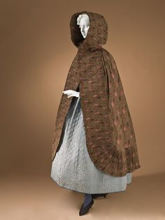 France, Provence  Petticoat, 1795-1820  Costume/clothing principle attire/lower body, Silk plain weave, quilted, 40 3/4 x 94 1/2 in. (103.51 x 240.03 cm)  Gift of Mr. and Mrs. H. W. Grieve (M.79.237.7)  Costume and Textiles Department.