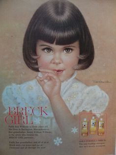 Breck Girl Ad Faith Ann Williams