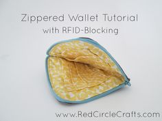 How to make a fabric wallet