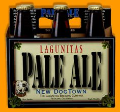 Lagunitas Brewing Company: New Dogtown Pale Ale. 6.2% ABV. A Robust Blast of hops hits you as you settle in to a taste experience of epic proportions. Nice!