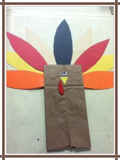 Easy, cute & fun craft activity for toddlers on thanksgiving season