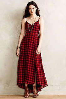 Genny gingham dress