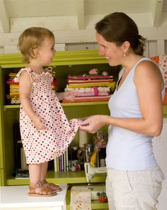 smocked dress - free tutorial by Anna Maria Horner