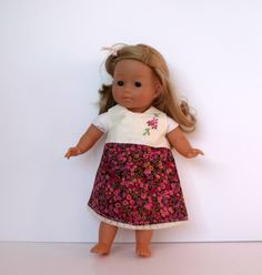 Dolls Dress in Liberty of London for dolls by TheDollsWardrobe, £12.00