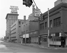 Another view of the Trio Drug store. None of these buildings exist today. Early 80s.