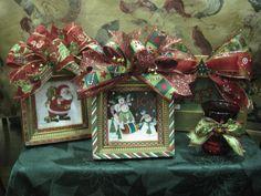 Bows on Christmas photos
