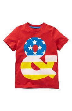 Neat print idea... Mini Boden Graphic T-Shirt (Little Boys & Big Boys)