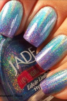 Sparkly nails !  | See more at http://www.nailsss.com/colorful-nail-designs/2/