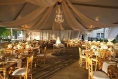 Marquee Decoration on Pinterest