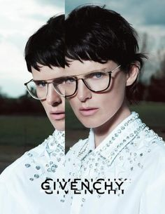 Givenchy Eyewear AD CAMPAIGN Autumn/Winter 2012, featuring Stella Tennant and shot by Mert  Marcus