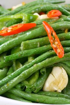 Spicy Sautéed Green Beans Recipe