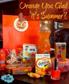 """Orange You Glad It's Summer"" - Last Day of School Gift"