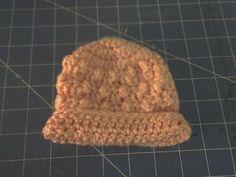 Bumpy Preemie Hat Crochet Pattern