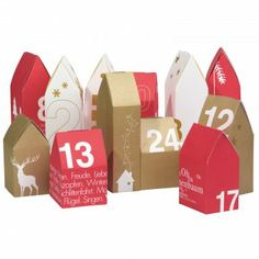 basteln adventskalender on pinterest advent calendar bread box. Black Bedroom Furniture Sets. Home Design Ideas