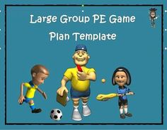 This product is a physical education large group plan template entitled the VIP (versatile, inclusive and practical) P. E. plan.