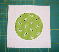 How to sew a perfect circle
