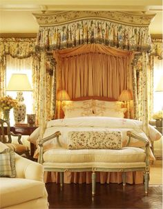 Elegant Traditional Bedroom by Suzanne Tucker  on Home Portfolio