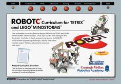 ROBOTC Curriculum for TETRIX and LEGO MINDSTORMS  http://www.education.rec.ri.cmu.edu/previews/robot_c_products/teaching_rc_tetrix_preview/index.html