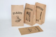 Vintage Lunch Bag Printables