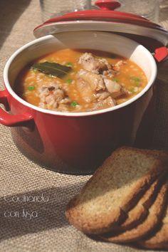 Cocinando con Kisa: Arroz con pollo { Thermomix}