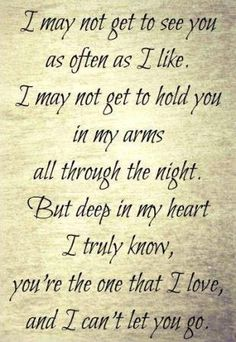 This describes how I feel about my man.