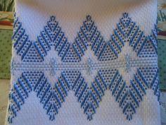 Blue Mountain Peaks Towel by andreaaufieri