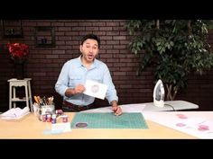 How to Create Ink Effects Napkins with @Mark Van Der Voort Montano @DecoArt Inc. Inc.