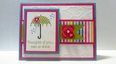 Stampin' Up Rain or Shine Thoughts of You Card