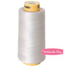 #FQSgiftguide Gutermann Light Grey 100% Cotton Cone Thread Color 732370-618