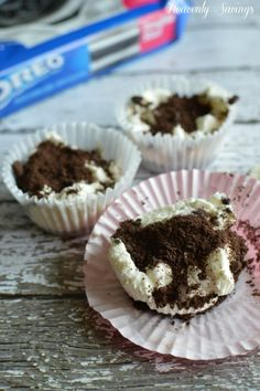 Oreo Cookie Cupcakes - Heavenly Savings