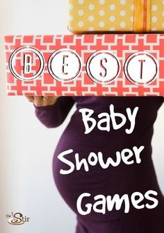 There are AWESOME baby shower games in here! Love # 14!
