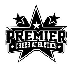 Logo for a cheer athletic team