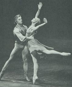 Natalia Makarova and Mikhail Baryshnikov.
