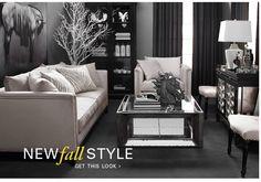 Z Gallerie decor, idea, fall style, galleri, dream living rooms, mute tone, living room designs, grey, live room