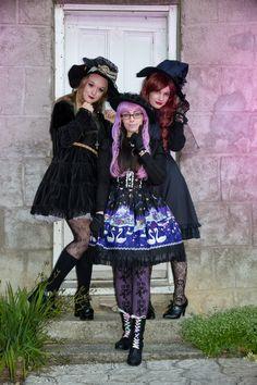 Lolita Witches, MOTAT All Hallows Eve Fair 2013.