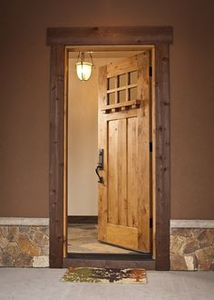 Cabin front door?? I'm thinking yes.