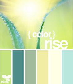 green blue yellow