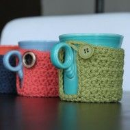 coaster AND a cozy crochet pattern