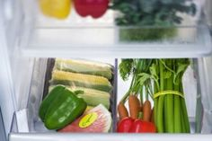 21 Uses for Wax Paper. Shown: Line refrigerator drawers with waxed paper for easy cleaning later...