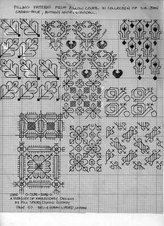 Blackwork patterns.